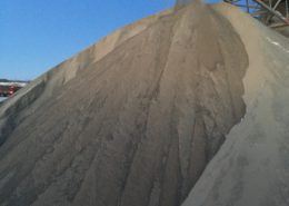 Dufferin Aggregates pile of Aglime product