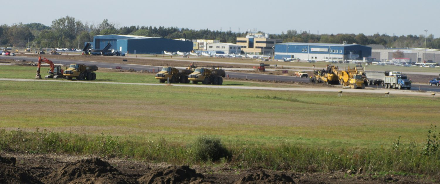 Oshawa Executive Airport Job site