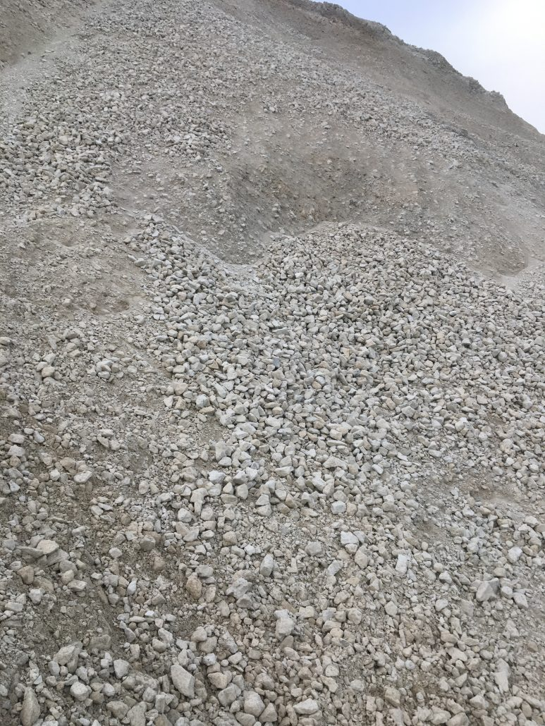 Dufferin Aggregates Canada Products Milton Granular B2 Pile background