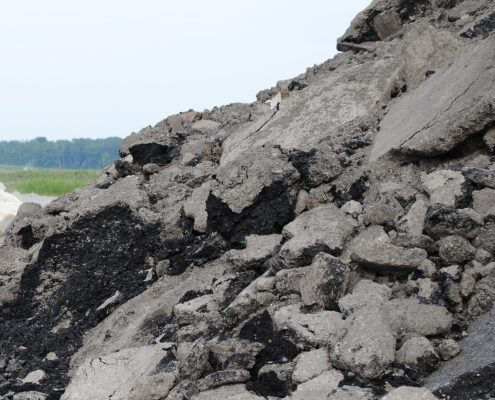 Dufferin Aggregates Canada Product RCA RAP Recycled pile