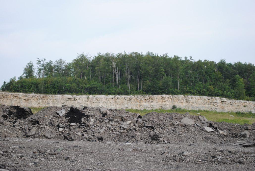 Dufferin Aggregates Canada Products RCA Recycled pile